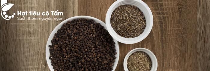 lợi ích hạt tiêu đen